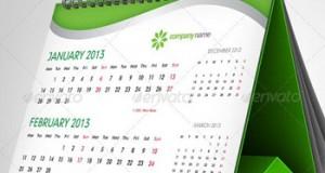 Green-Calendar-2013-Template