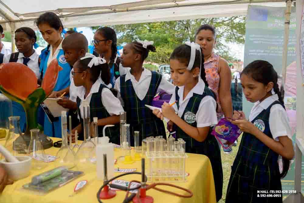 the guyana school of agriculture hosts open day activities